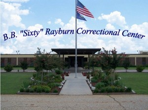 B.B. Rayburn Correctional Center location