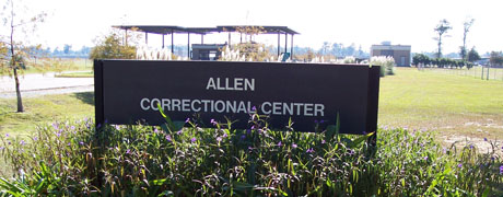 Allen Correctional Center front gate