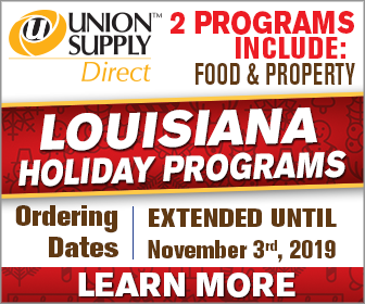 Union Supply Direct - Programs include food & property. Ordering dates are extended until Nov. 3, 2019