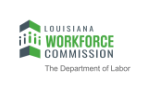 Louisiana Workforce Commission black and green logo